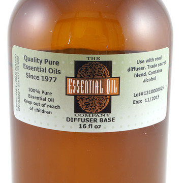 Base oil for aromatherapy reed diffusers