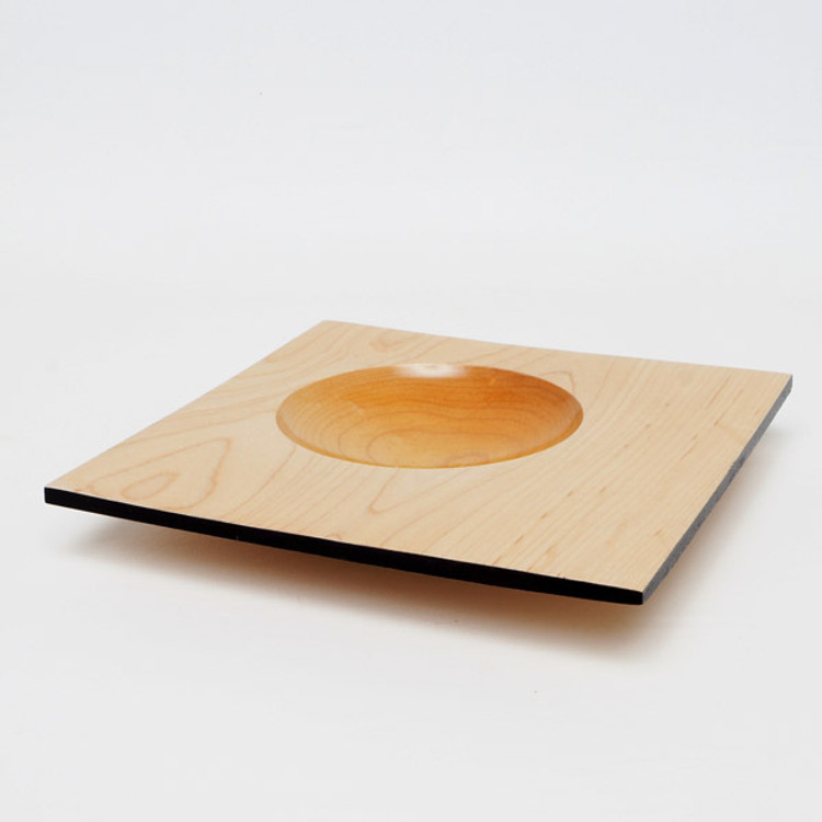 Circle in the Square serving platter