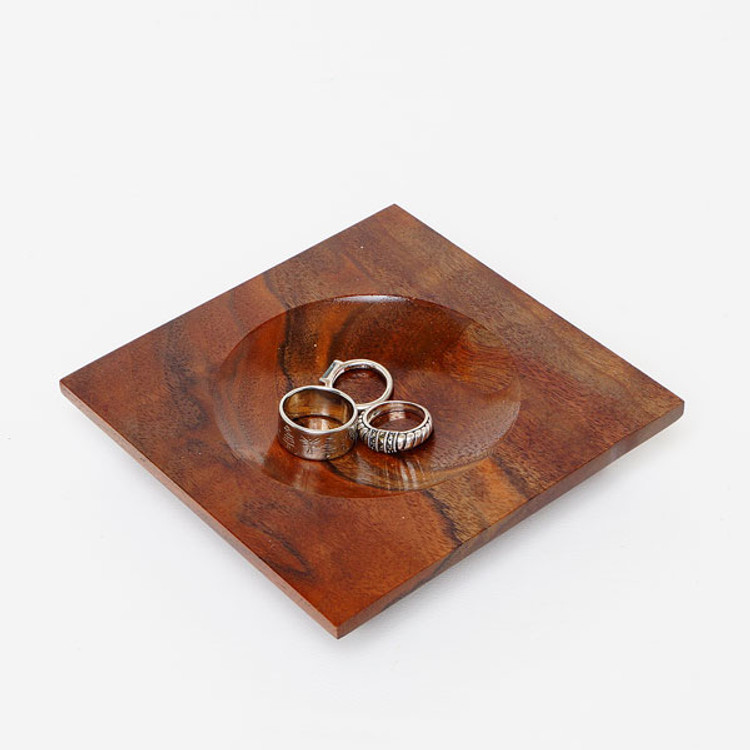 Black Walnut Ring Holder