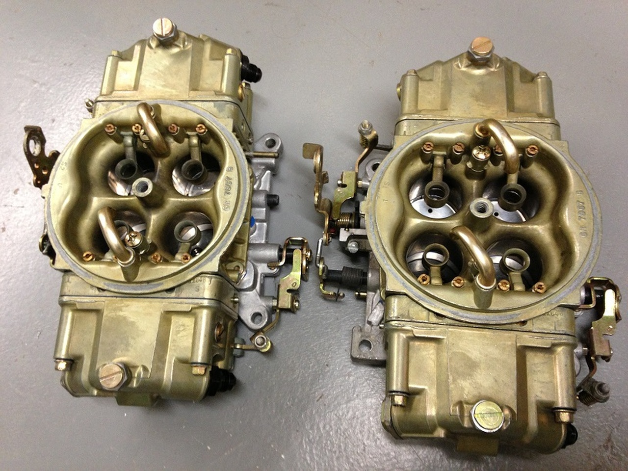 KB Carbs customer supplied carburetor modifications