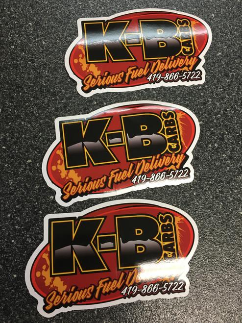 KB Carbs decal
