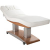 Woody Dual Tower Electric Spa Bed - Silver Fox 2259+ Plush