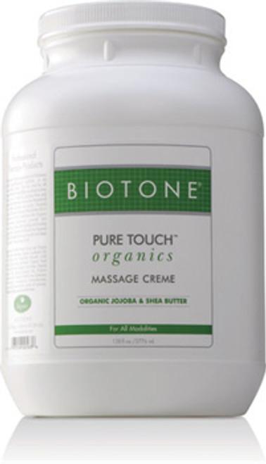 Biotone - Pure Touch Organics Massage Cream 128 oz.