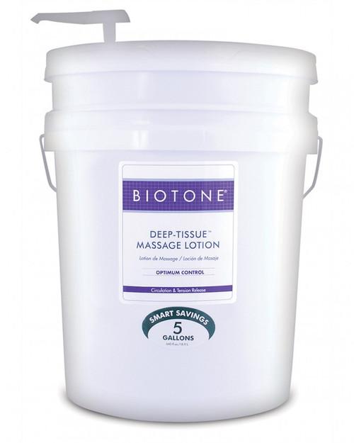 Biotone - Deep Tissue Massage Lotion 5 Gallon