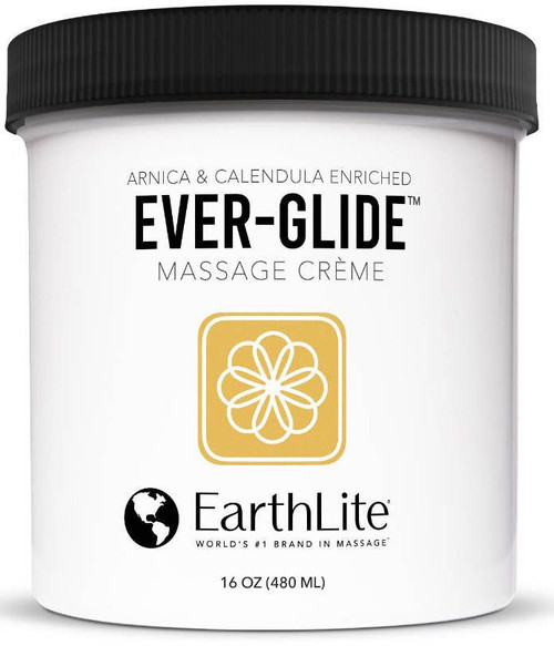 Earthlite - Ever-Glide Massage Creme - 16OZ