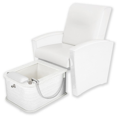 Living Earth Crafts - Mystia Pedicure Chair with Plumbed Footbath