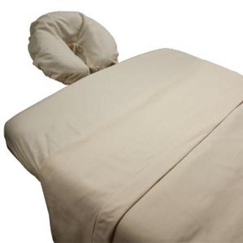Body Linen - Arcadia Organic Flannel Massage Sheet Set