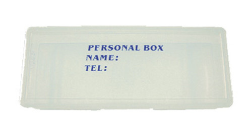 Clear Personal Tool Box