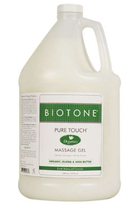 Pure Touch Organics Massage Gel 1/2 Gallon