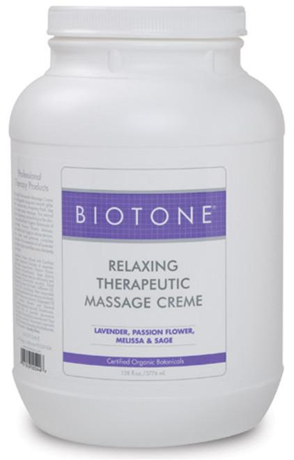 Biotone - Relaxing Therapeutic Massage Creme 1 Gallon