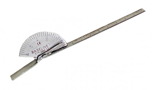 Chattanooga - Baseline Stainless Steel Finger And Small Joint Goniometer 43057