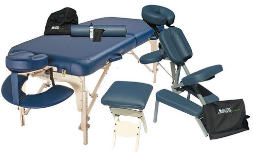 Custom Craftworks Luxor Massage Table & Chair Package
