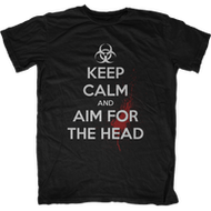 Keep Calm, ZOMBIES! - T-Shirt of the Week