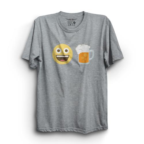 Beer Emoji Tee