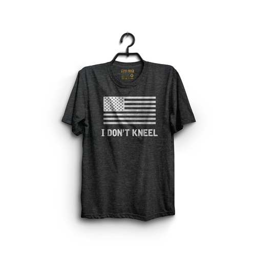 I Don't Kneel To The American Flag T-Shirt