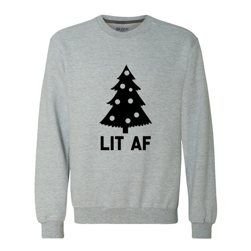 Lit AF Christmas Tree Sweater