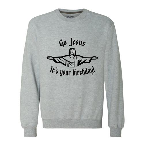 Go Jesus, It's Your Birthday Sweater