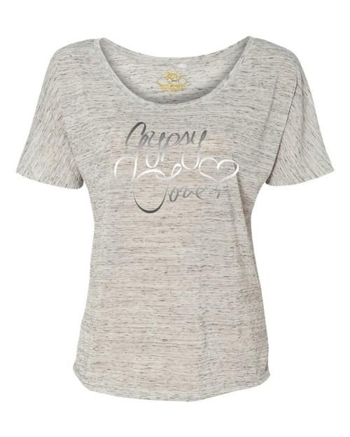 Gypsy Love Signature Logo Slouchy Tee