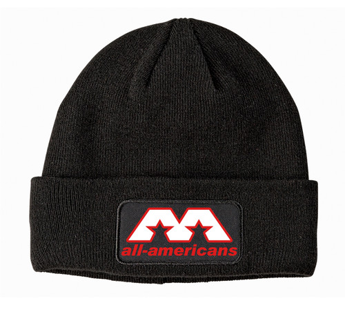 AA Patch Knit Beanie