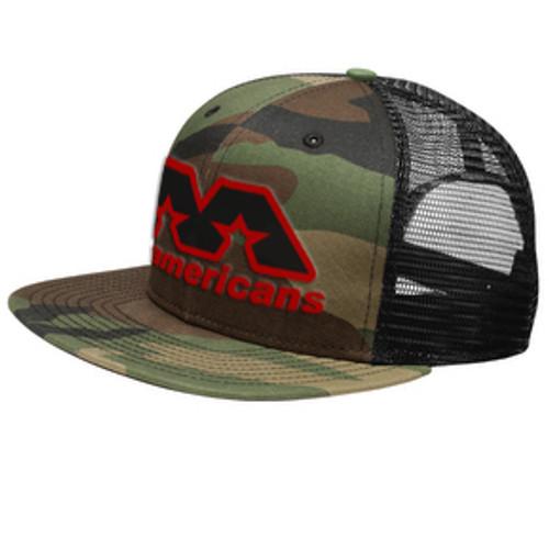 AA Flat-Brimmed Cap - Camo