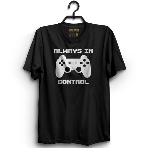 Always In Control Gamer T-Shirt