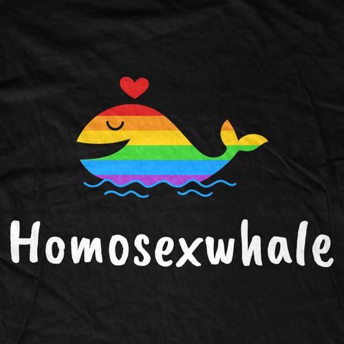 homosexwhale shirt