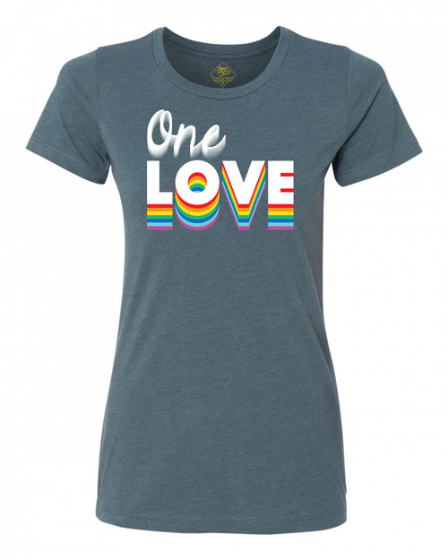 Gypsy Love One Love Pride Collection Ladies' T-Shirt