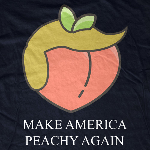 Impeach Trump | Make America Peachy Again tee
