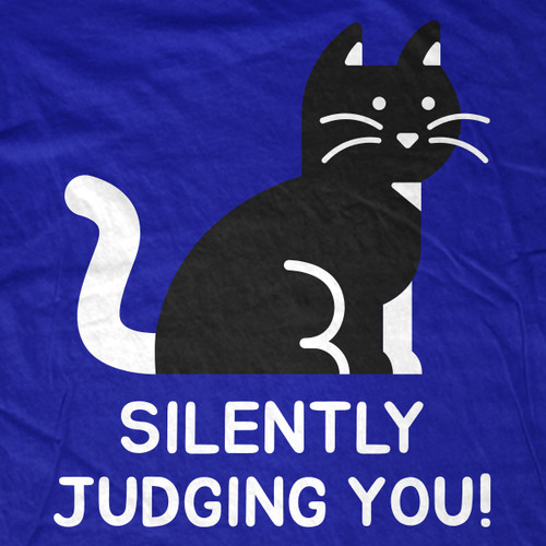 Silently Judging T-Shirt