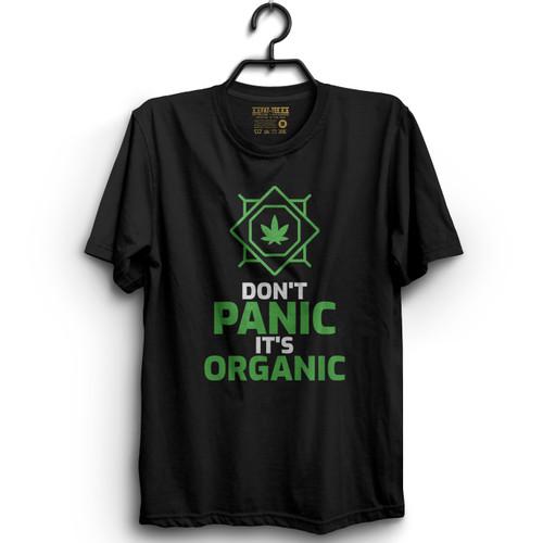Don't Panic, It's Organic T-Shirt