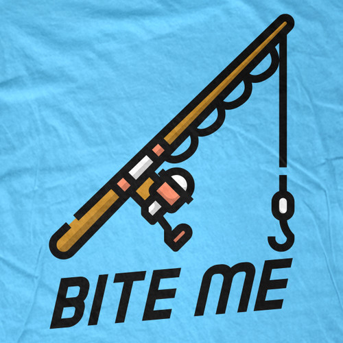 Bite Me Fishing T-Shirt