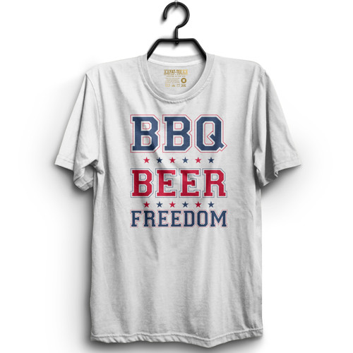BBQ BEER FREEDOM T-Shirt