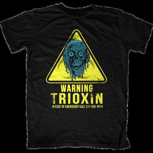 Warning Trioxin Return of the Living Dead T-Shirt
