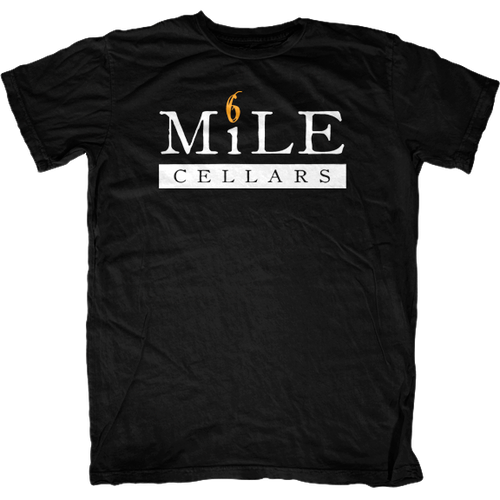 6 Mile Cellars Orange 6 Mens T-Shirt