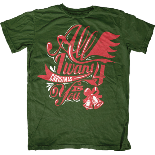 All I Want 4 Christmas is You T-Shirt