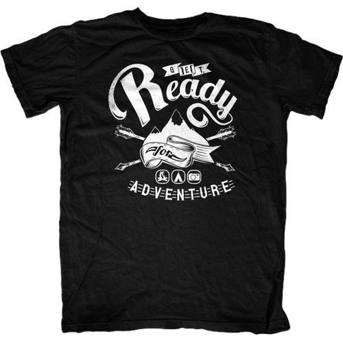 Get Ready for Adventure T-Shirt