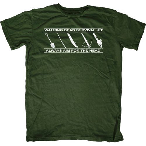 Zombie Apocalypse Survival Kit T-Shirt