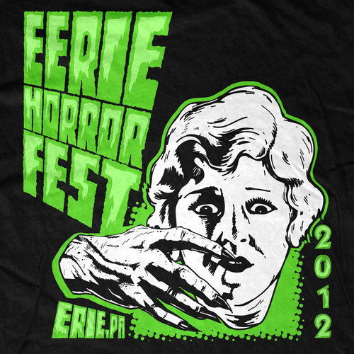 Erie Horror Fest 2012 Event T-Shirt