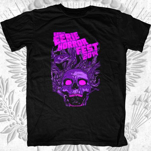 Erie Horror Fest 2014 Event T-Shirt