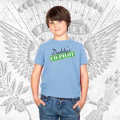 Daddy's Co-Pilot T-Shirt