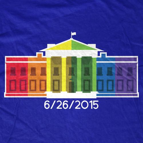 Gay White House T-Shirt
