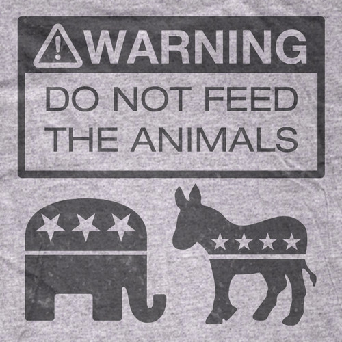 Don't Feed The Animals T-Shirt
