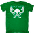 FAT-TEE Skull and Crossbones T-Shirt
