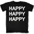 HAPPY HAPPY HAPPY Duck Hunting Family Quote T-Shirt