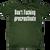 Don't F'ing Procrastinate T-Shirt