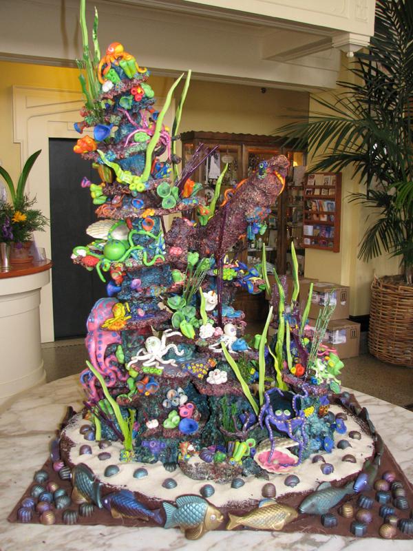 Octopus' Garden Sculpture