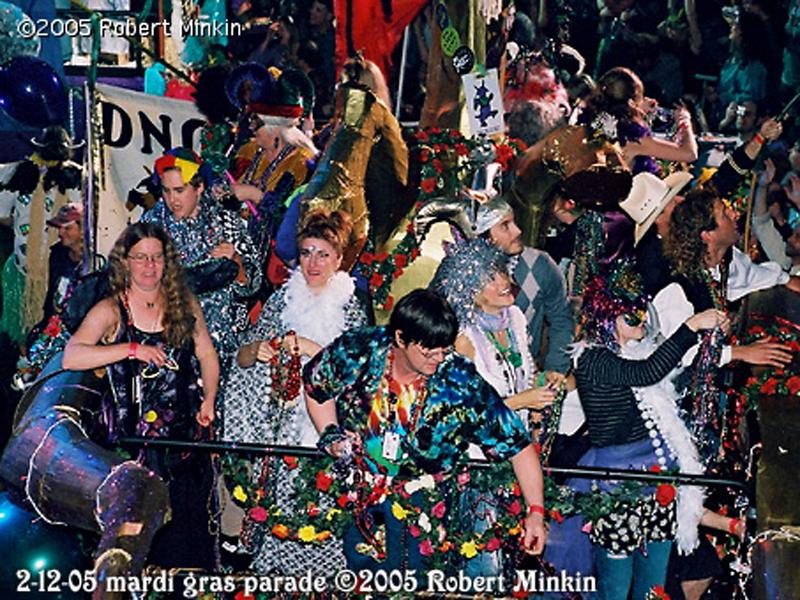 Phil & Friends Mardi Gras Parade