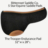 The Trooper Endurance Pad: 5 Star Saddle Pads