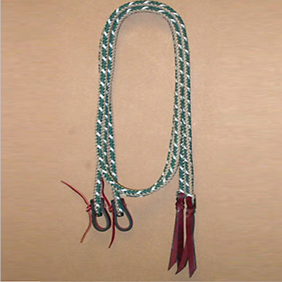 "Braided Split Reins 1/2"" by Double Diamond Halters #4800-S"