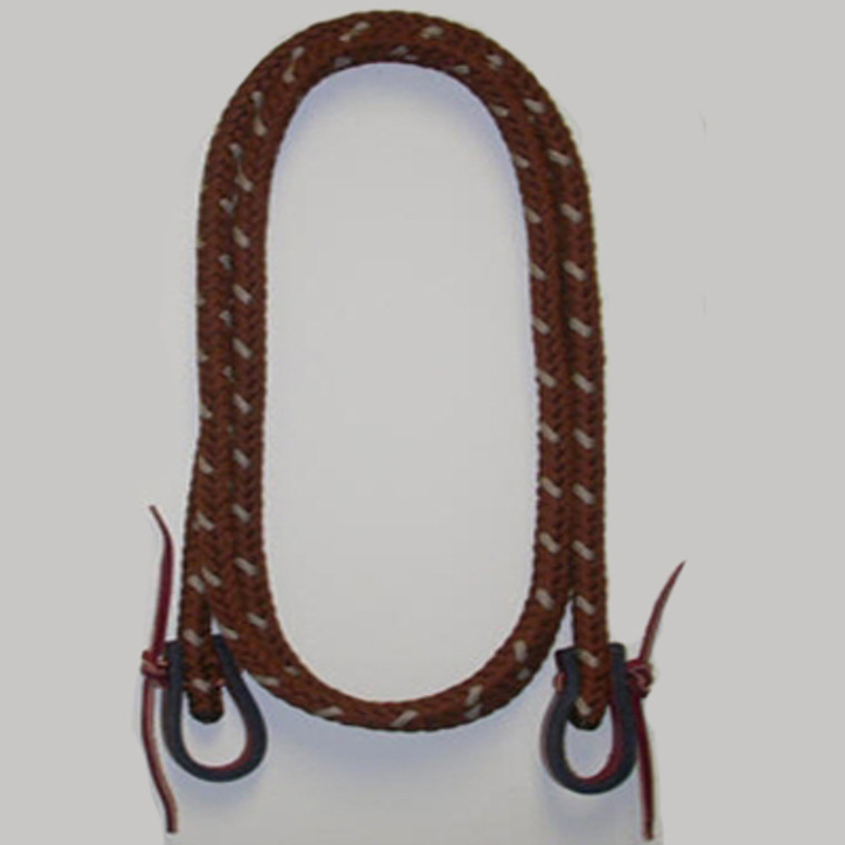 "Roping Reins 1/2"" Parachute Cord by Double Diamond Halters #4850-S"